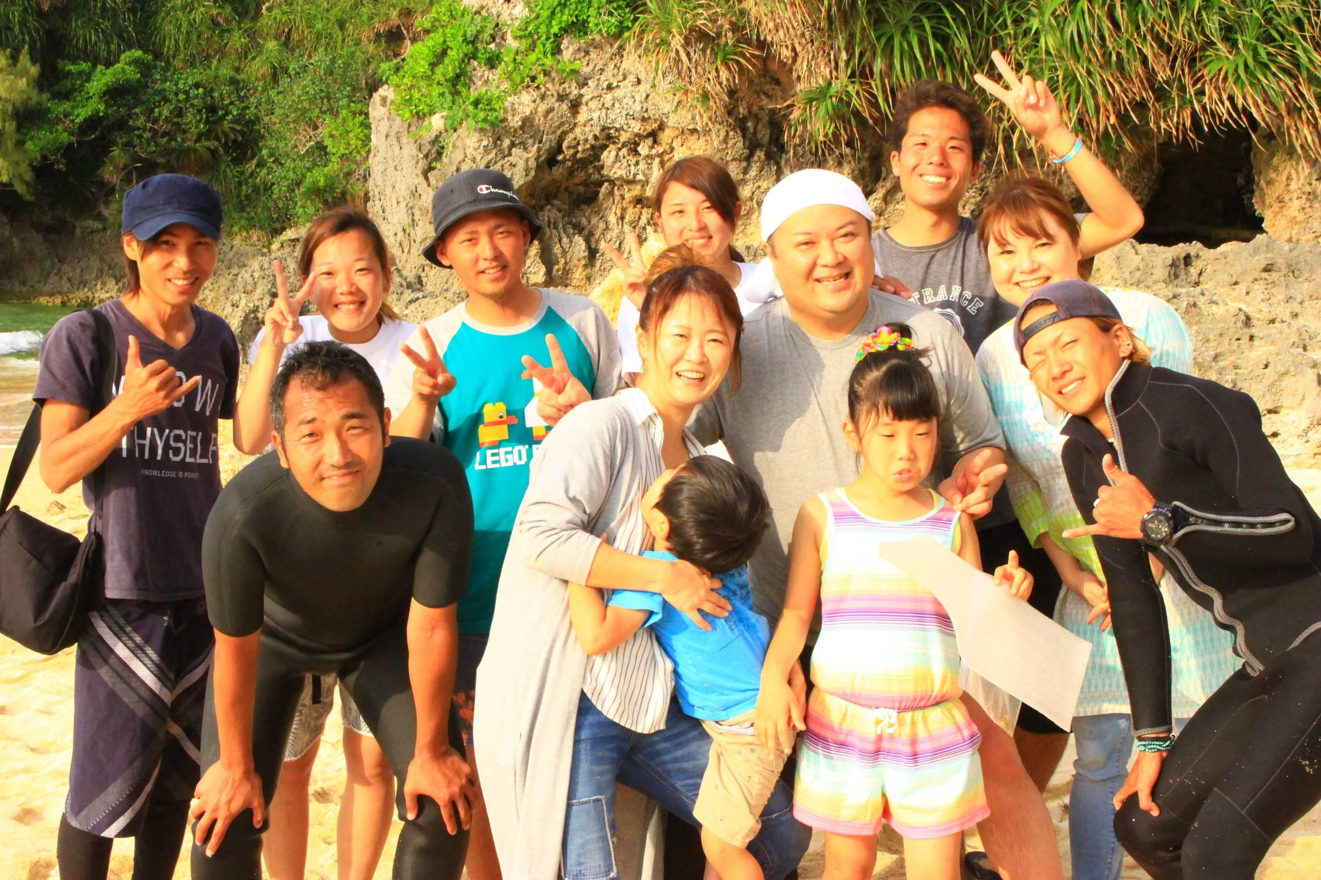 沖縄ダイビングと青の洞窟のシーモール-株式会社CREASPLUS