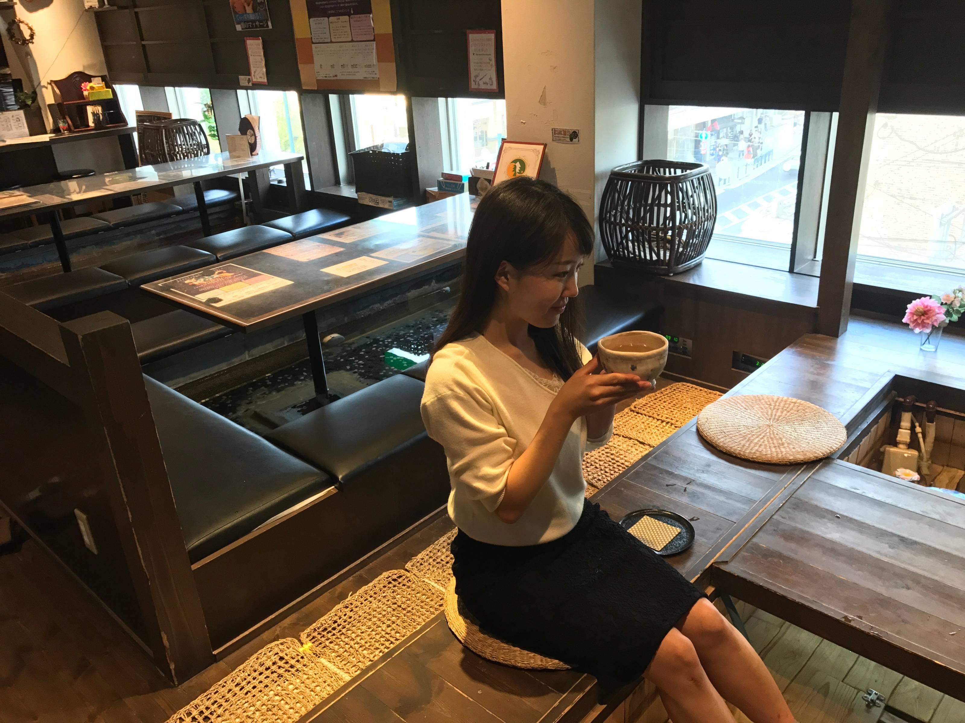 湯もみカフェ もみの気ハウス 京都店