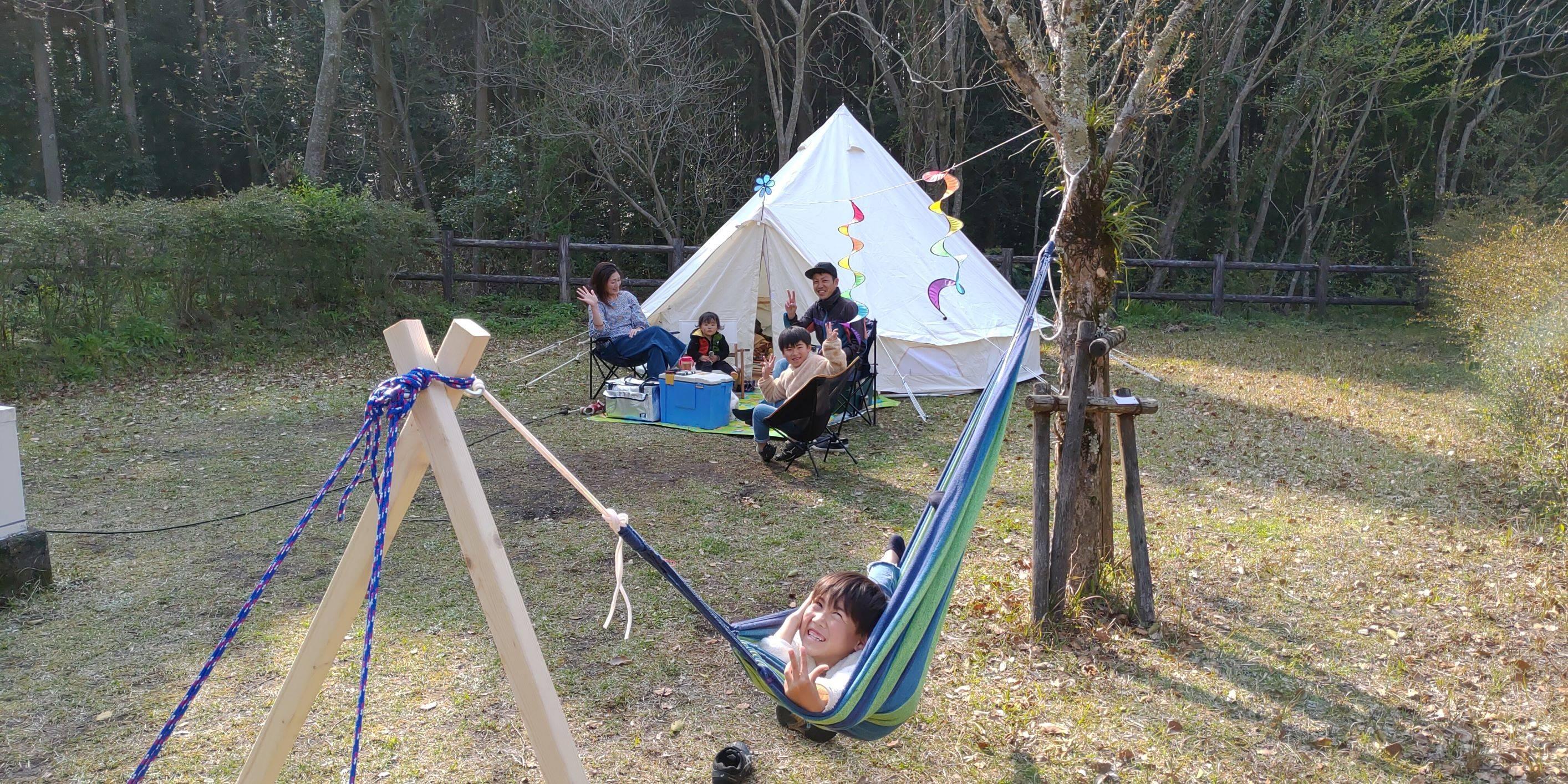 岩屋公園キャンプ場