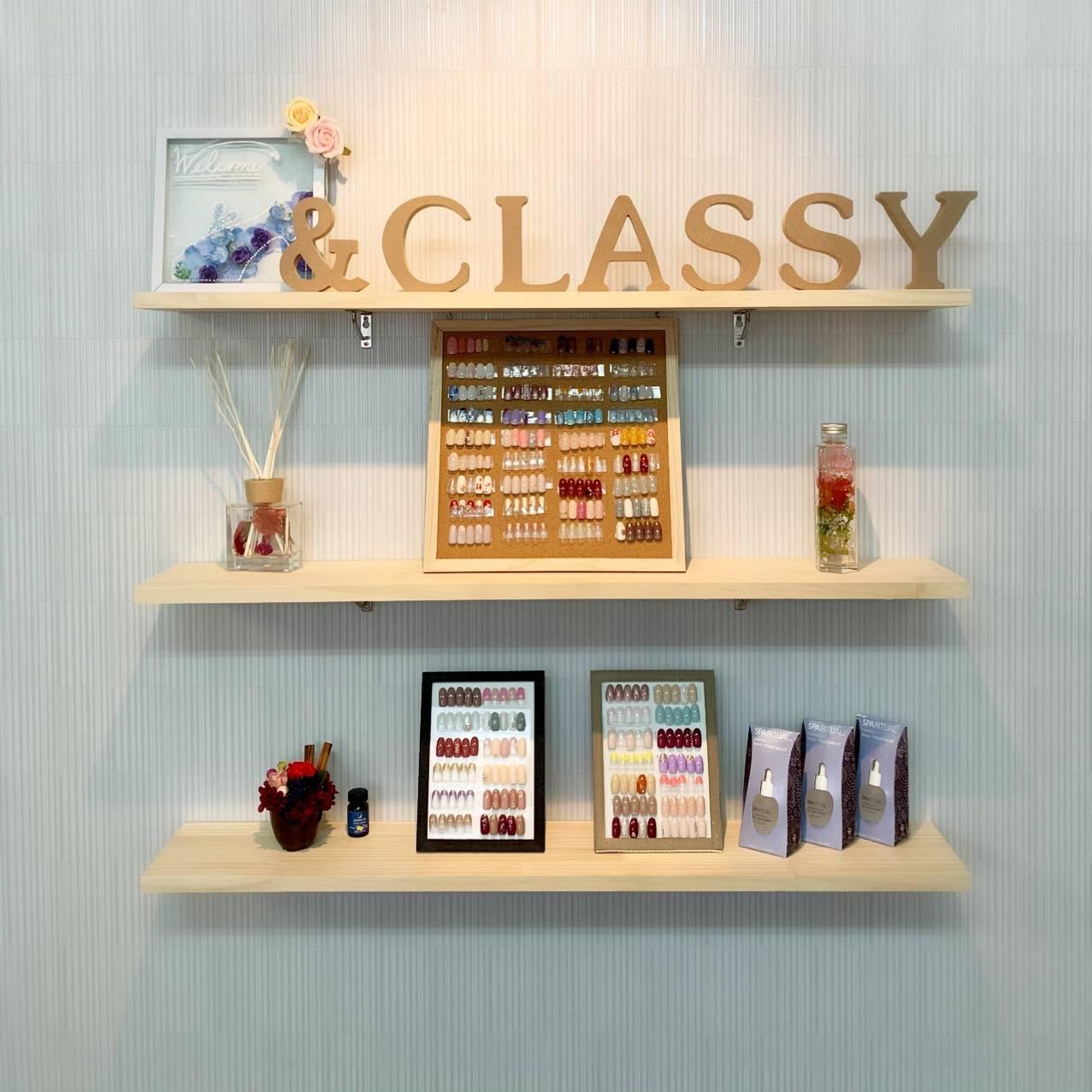 nail salon &Classy.(運営:株式会社Mammy Pro)