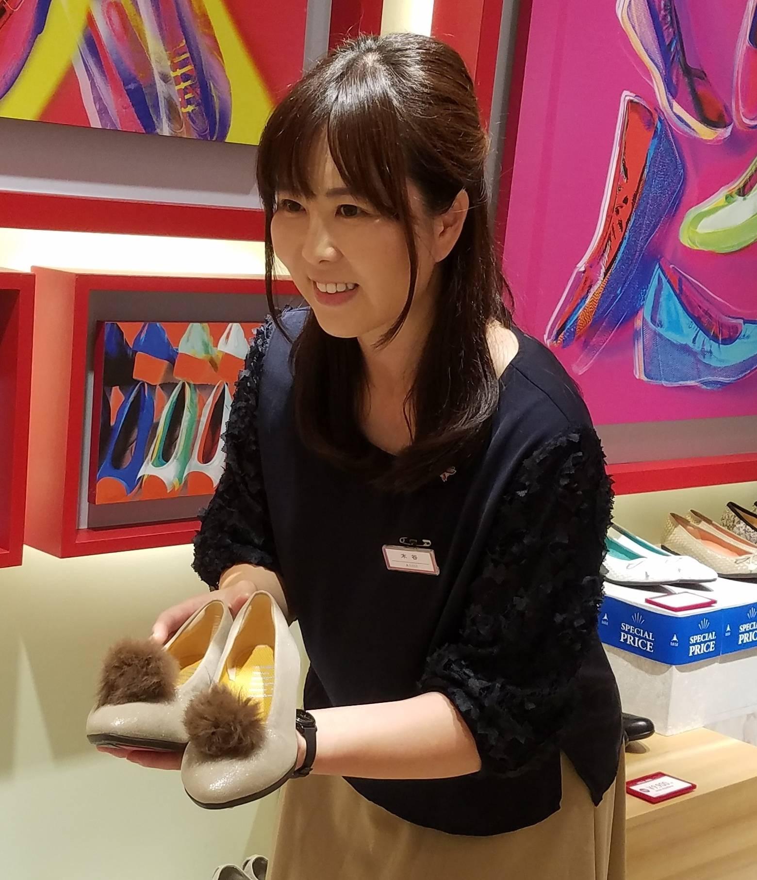女性の足にやさしいシューズショップ fitfit 近鉄和歌山店